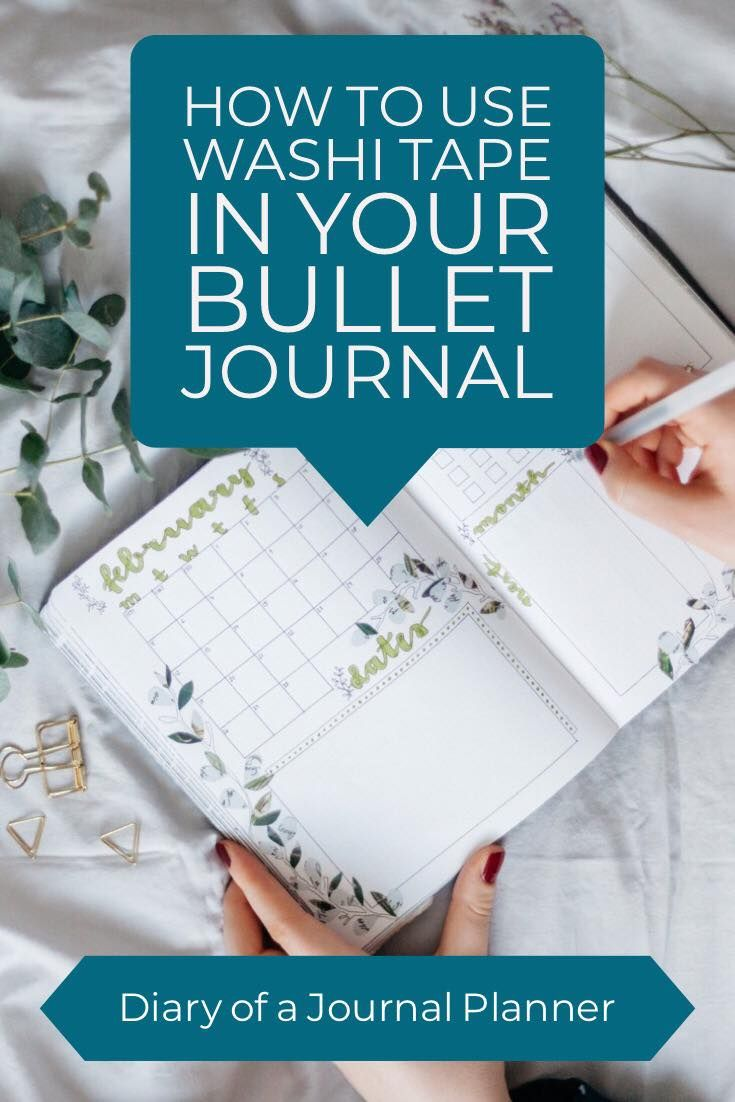 40 Creative Bullet Journal Washi Tape Ideas Bullet Journal Washi