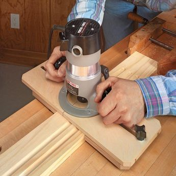 Handy Router Jig | Woodsmith Tips