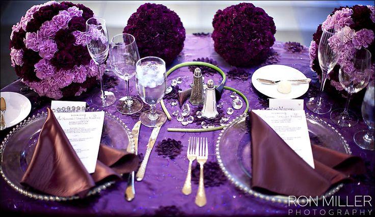 Purple carnation pomander balls #Naakiti