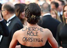 Au festival de Cannes 2017, cette actrice anonyme a trouvé l'astuce pour trouver du travail