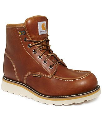 Carhartt Shoes, 6 Inch Wedge Waterproof Boots