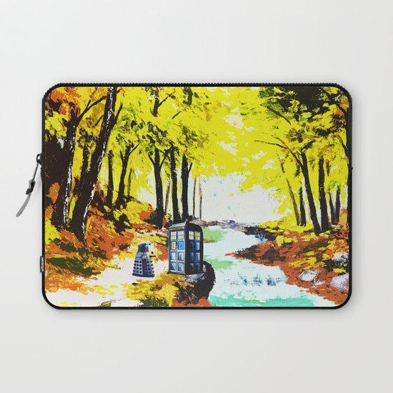 Tardis Art With Dalek - $36