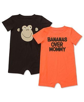 Carters Baby Set, Baby Boys Monkey Romper Set - Kids Baby Boy (0-24 months) - Macy's