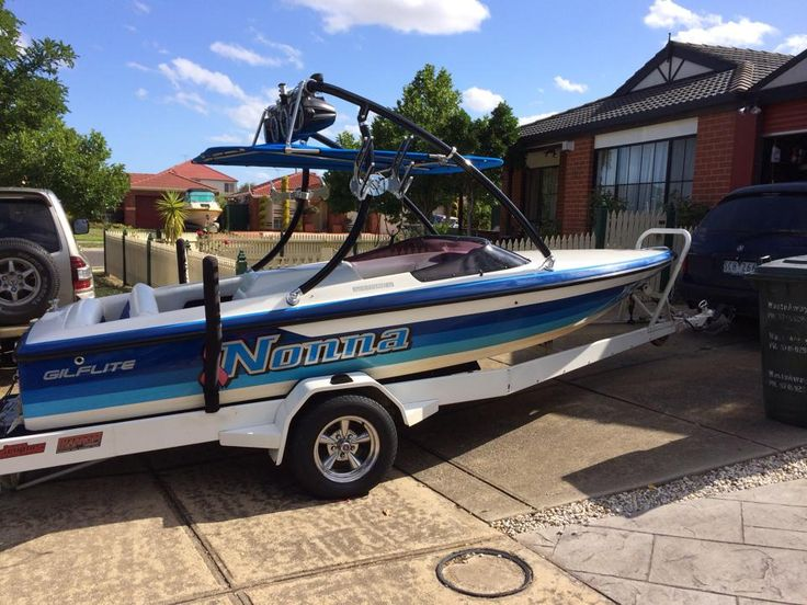 one of our Jaws Wakeboard Towers on a Gilflite Lazer rrp $850 free postage (in Australia) call +61 438419320 or felix@wantedwake.com for details #wakeboarding #wakesurfer #boating #boats #waketowers #towers