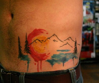 colorado tattoo watercolor - Google Search