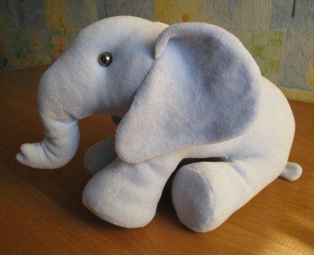 Molde para hacer peluche de elefante-1                                                                                                                                                                                 Más