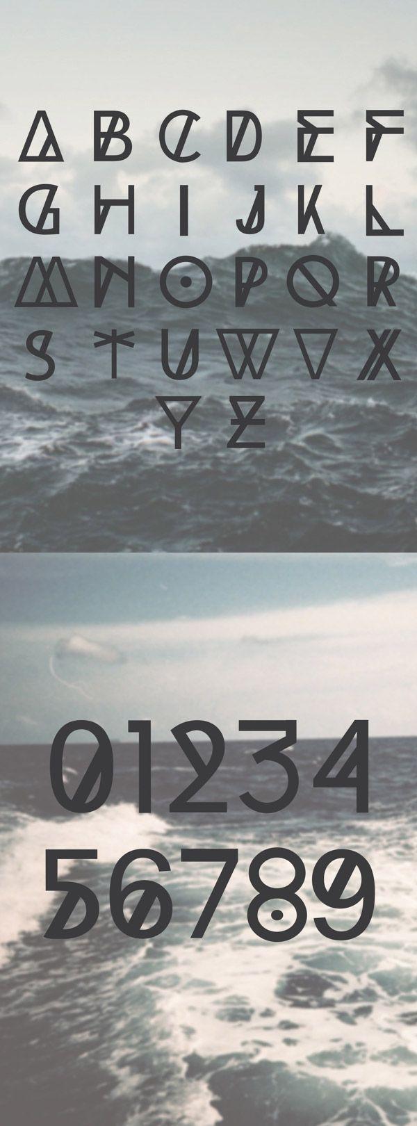 HIGH TIDE - Free Font