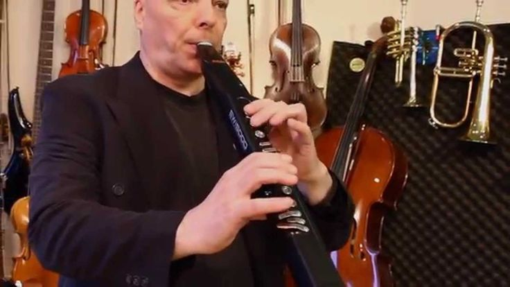 DynaSample XPression meets Akai EWI5000 - Bach Cello-Suite in G Courante