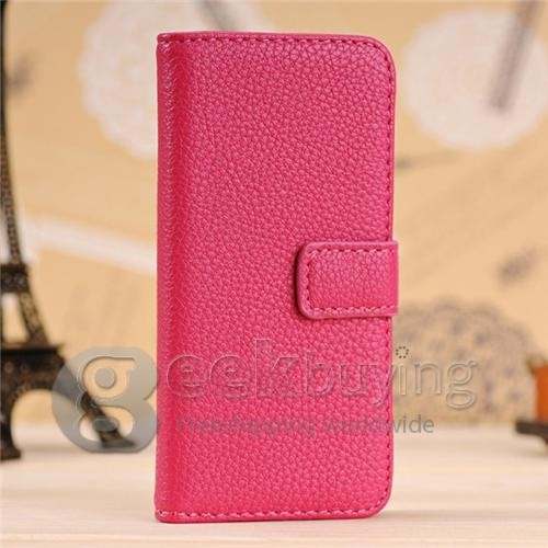 New Fashion Leather Flip Wallet Credit Cards Stand Protective Case Cover for Nokia Lumia 920 Rose $5.59
