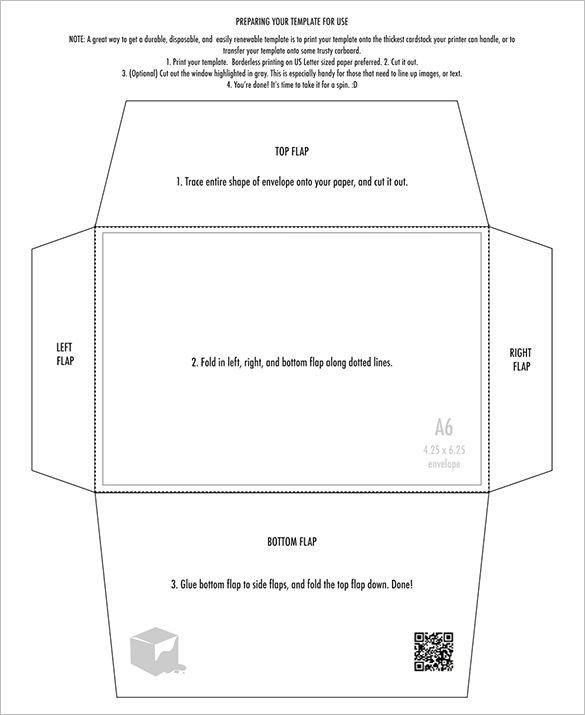 5x7 Postcard Templates For Word Inspirational 4x6 Envelope Templates 9 Free Printable Word Pdf In 2020 Envelope Template Printable Envelope Template Printable Envelope
