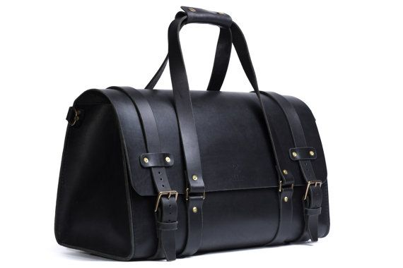 Duffle Bag Men's Leather Cabin Luggage Carry Lite