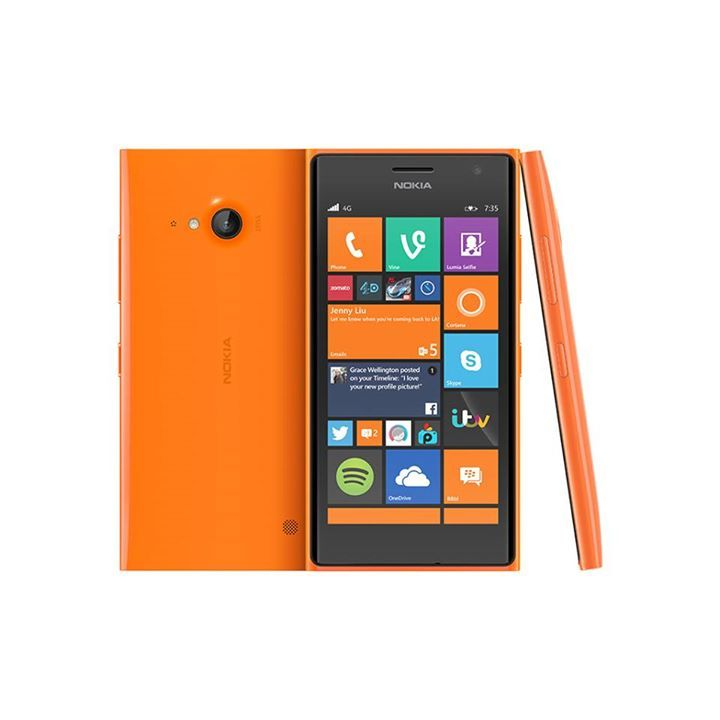 "Nokia Lumia 735 Πορτοκαλί   Χαρακτηριστικά  Τεχνολογία 4G Συχνότητα GSM 850/900/1800/1900, HSDPA 850/900/1900/2100, LTE 800/1800/2600 Λειτουργικό σύστημα Microsoft Windows Phone OS 8.1 Επεξεργαστής Quad Core Qualcomm Snapdragon 400 1.20 GHz Οθόνη 4.7"" OLED TrueColor ClearBlack 1280 x 720 Cortex-A7 Κάρτα μνήμης microSD Ενσωματωμένη μνήμη 8 GB Μνήμη RAM 1 GB Κάμερα 6.7 Megapixel, LED flash Εγγραφή βίντεο 1080p @ 30 fps Κάμερα 2η 5 Megapixel Ασύρματη διασύνδεση Wi-Fi 802.11b/g/n, DLNA, hotspot…"
