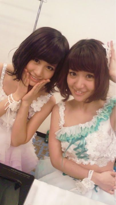 Acchan & Yuko #AKB48