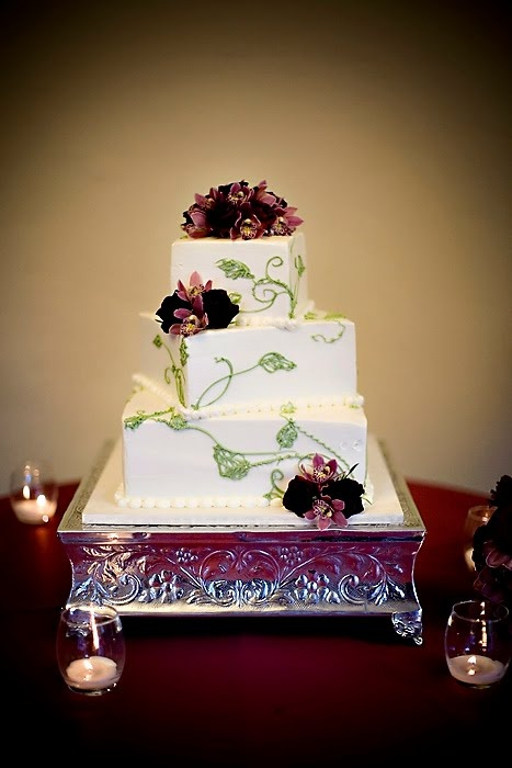dark green wedding cakes best 25 green square wedding cakes ideas on 13342