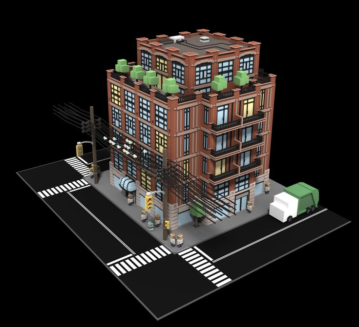 voxel city - Google Search