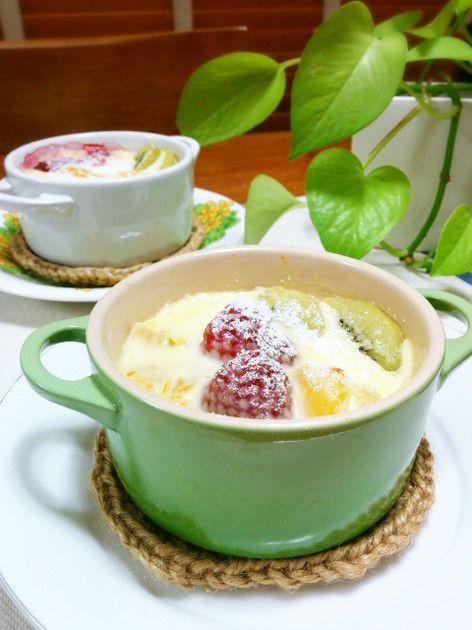 フルーツグラタン by ぷけママ [クックパッド] 簡単おいしいみんなのレシピが227万品
