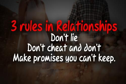 Three Best Rules Of Relationship