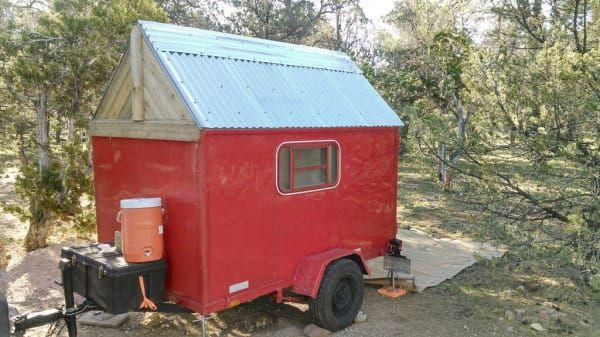 DIY micro camper upcycle