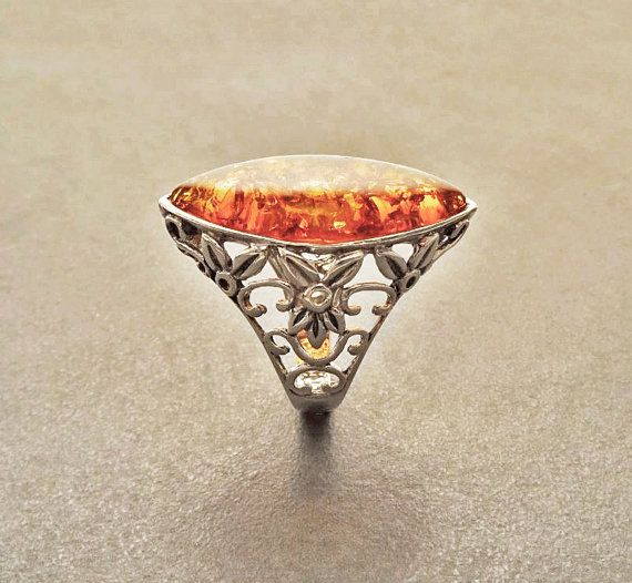 Hey, I found this really awesome Etsy listing at https://www.etsy.com/listing/217276988/intricate-boho-filigree-amber-gemstone