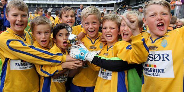 Fotballfest på Sør Arena - Sparebanken Sør