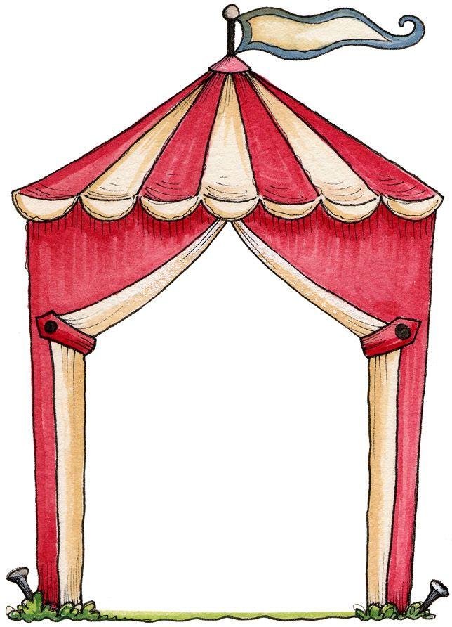 tekenkader: welke act is er te zien in het circus?