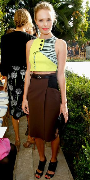 Kate Bosworth in Proenza Schouler: Celebrity Style, Proenza Schouler, Crop Tops, Style Inspiration, Kate Bosworth, Street Style, Outfit, Photo Galleries, Fashion Looks