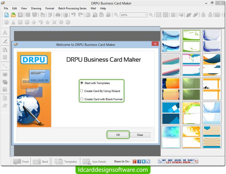 Free Business Card Design The Best Contact Management For Windows Pinterest