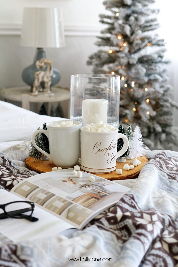 Cozy Christmas Master Bedroom Retreat Ideas – #bed…