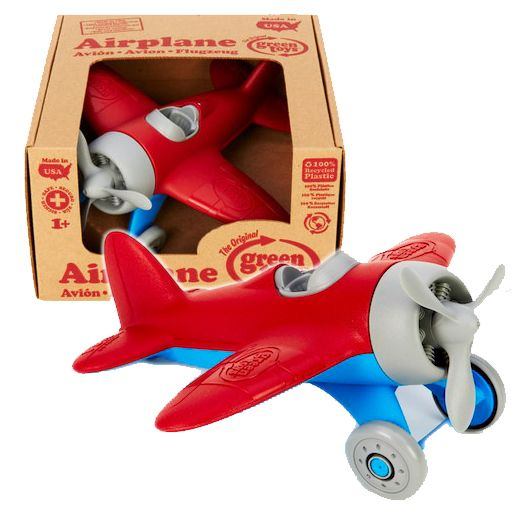 Hello Charlie - Green Toys Airplane, $26.32. Let Dad bring out his inner pilot! (http://www.hellocharlie.com.au/green-toys-airplane/)