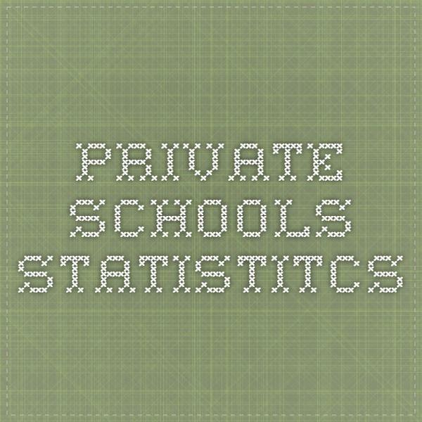private schools statistitcs