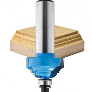 If you only buy 1 router bit to make your picture frames - this is the one! A Classic Roman Ogee is capable of making many different profiles. Invest in this one first!!  #Framing