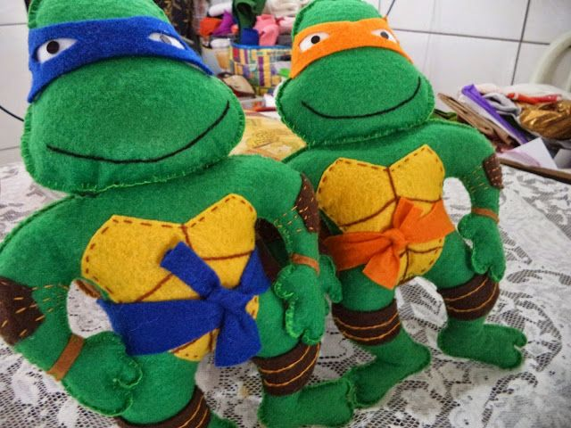 I Love Crafts: ninja turtle with mold