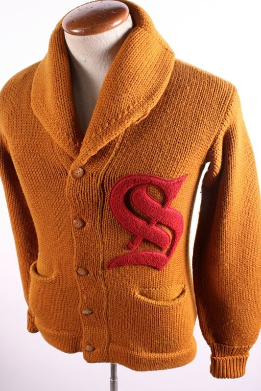 Sold on eBay Vintage Shawl Collar Cardigan Sweater