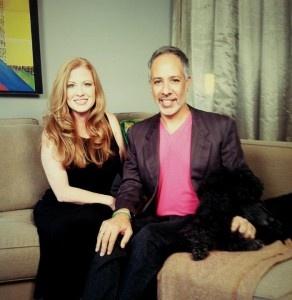 Me with E. Vincent Martinez, Fashionado