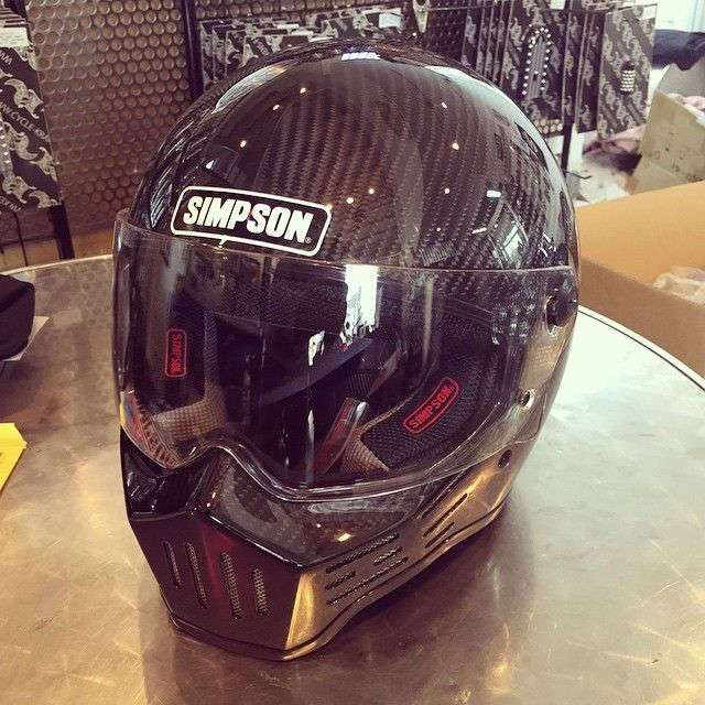 Very limited Simpson M30 carbon ‪#‎simpson‬#chopper#bobber#detailscreatestyle ‪#‎kensfactory‬