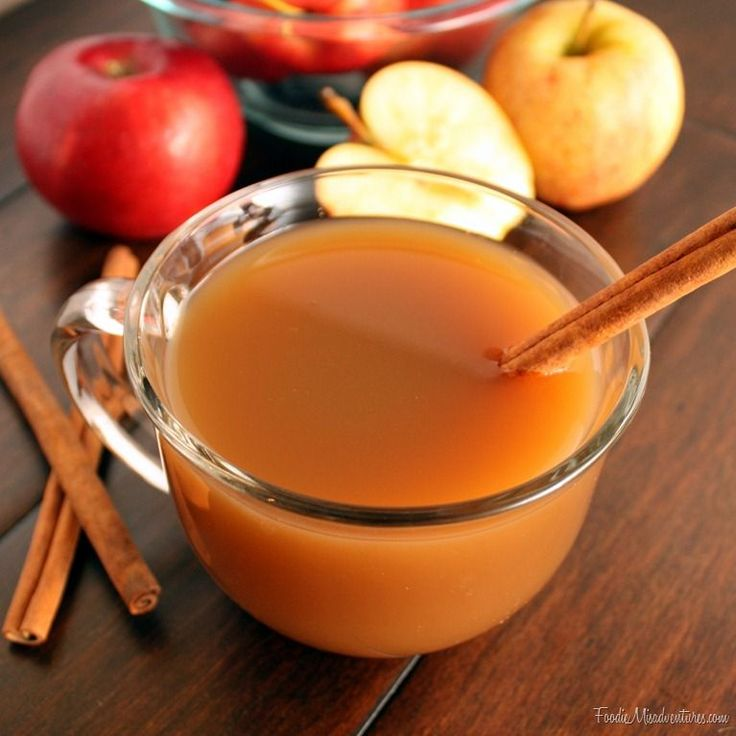 crockpot mulled cider- Michlene made this for us volunteers, and it is awesome