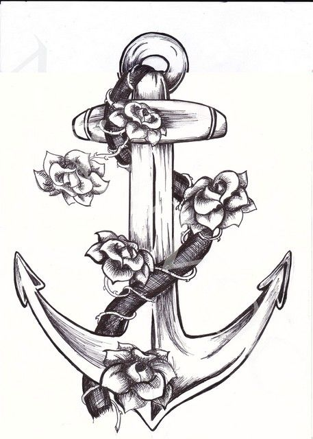 Anchor With Rope Tattoo 50.jpg