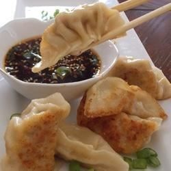 Fill store-bought wonton wrappers with a flavorful pork mixture for authentic-tasting dumplings at home.