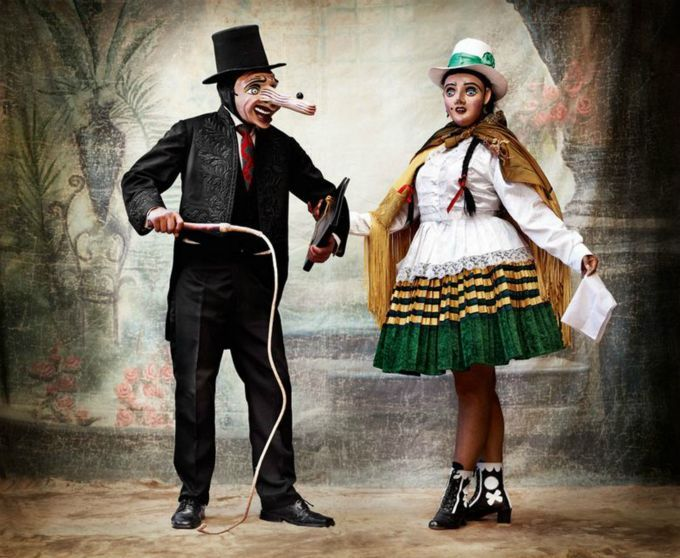 "Mario Testino, Alta Moda: ""I wanted to pay homage to Peru and to the sumptuousness of traditional Peruvian clothing, clothing to which Peruvians remain attached today,"" shared Testino in April's edition of Vogue Paris. For his photo backdrops, Testino even turned to cult 1930s and 1940s Peruvian photographer, Martin Chambi's family to help him bring his celebration of his native Peru to life."