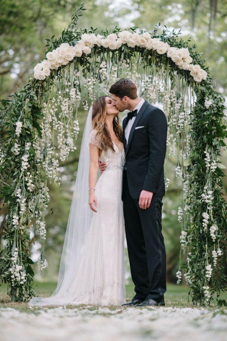 Intimate Garden Wedding | Photographed by Sean Money & Elizabeth Fay