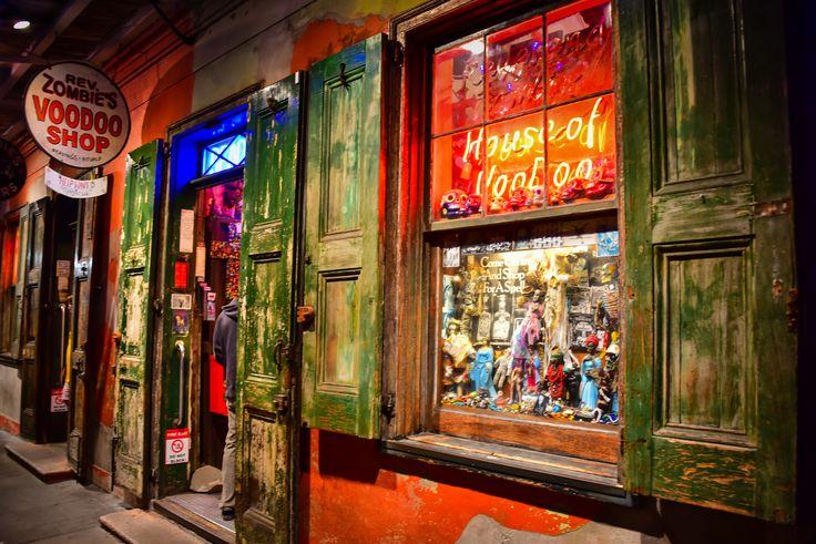https://flic.kr/p/22affDN   Voodoo Shop in French Quarter at Night - New Orleans LA   Voodoo Shop in French Quarter at Night - New Orleans LA