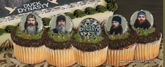 Duck Dynasty Cake Decoration Cupcake Favors Birthday Party Toppers