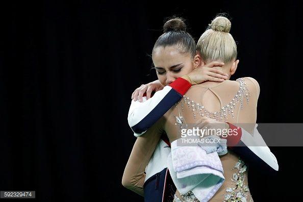 Foto di attualità : Russia's Margarita Mamun and Russia's Yana...