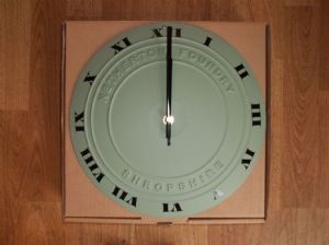 Netherton Foundry Cast Iron Wall Clock - Various Colours - Made in the UK!