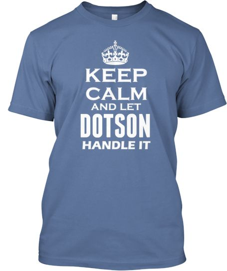 For those who are Dotsons only