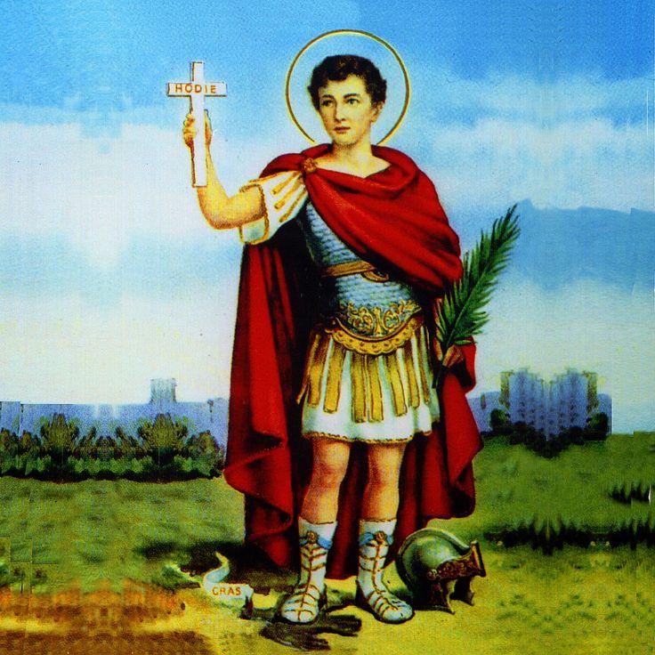 No dia 19 de abril comemora-se o dia de Santo Expedito, a quem é entregue as causas justas e urgentes.
