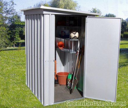 yardmaster x x metal pent store shed next day delivery yardmaster x x metal pent store shed - Garden Sheds Quick Delivery