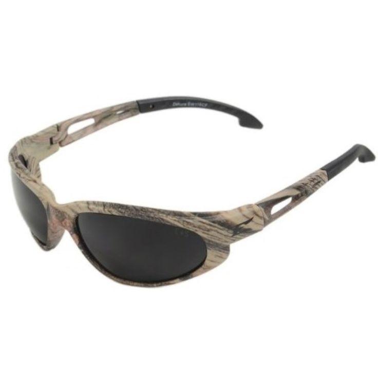 Edge Eyewear Dakura Forest Camouflage/Smoke Lens Sunglasses