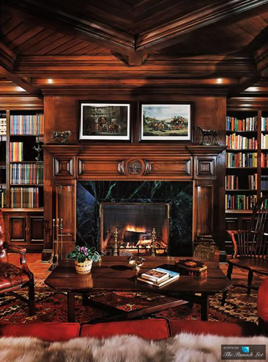Library Neverland Valley Ranch 5225 Figueroa Mountain