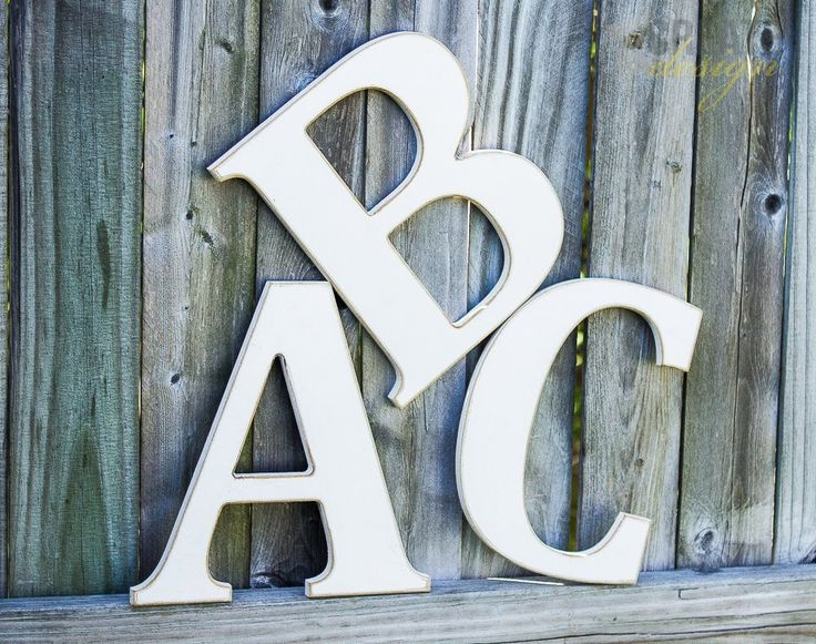 Large Decorative Wooden Letters: 1000+ Ideas About Large Wooden Letters On Pinterest
